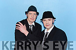 Dinny O'Regan and  Willie Cotter  were the Blues Brothers for Castleisland Lipsync on Saturday night