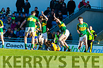 Kerry in action against Clare in the Munster Minor Quarter Final at Austin Stack Park Tralee on Wednesday night.