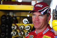 May 1, 2009; Richmond, VA, USA; NASCAR Sprint Cup Series driver Clint Bowyer during practice for the Russ Friedman 400 at the Richmond International Raceway. Mandatory Credit: Mark J. Rebilas-