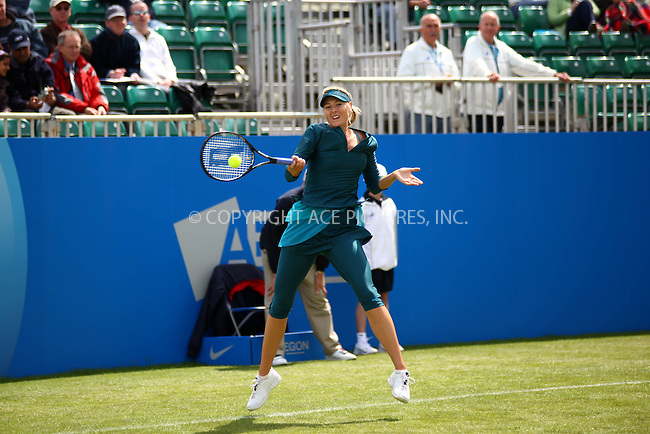 WWW.ACEPIXS.COM . . . . .  ..... . . . . US SALES ONLY . . . . .....June 8 2009, Birmingham, England....Maria Sharapova (after her comeback from a nine-month injury layoff) at the Aegon Classic tennis tournament held at Edgbaston Priory Club on June 8 2009 in England....Please byline: FAMOUS-ACE PICTURES... . . . .  ....Ace Pictures, Inc:  ..tel: (212) 243 8787 or (646) 769 0430..e-mail: info@acepixs.com..web: http://www.acepixs.com