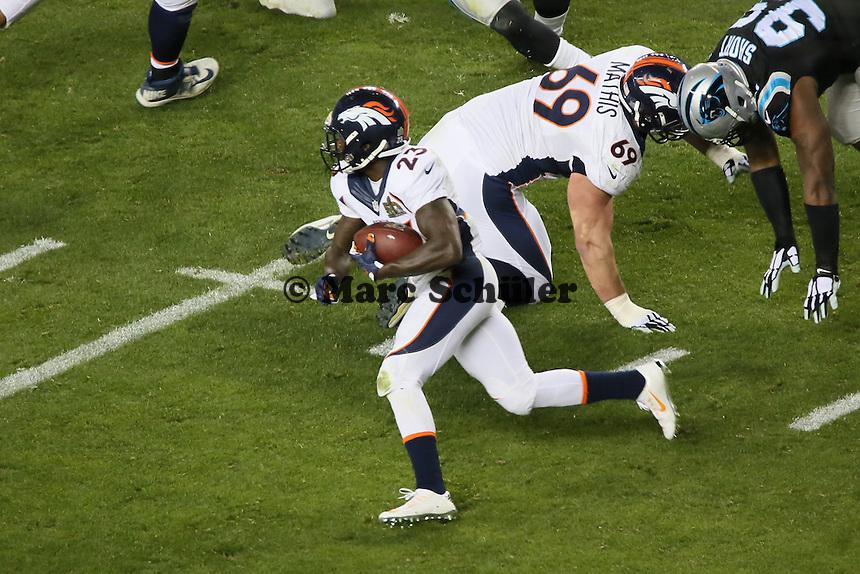 RB Ronnie Hillman (Broncos) - Super Bowl 50: Carolina Panthers vs. Denver Broncos