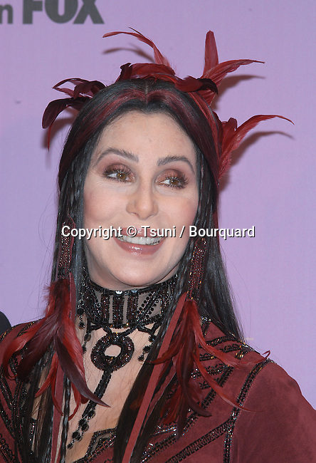 Cher backstage at the 2002 Fox Billboard Music Awards held at the MGM Grand Hotel in Las Vegas, NV., December 9, 2002.