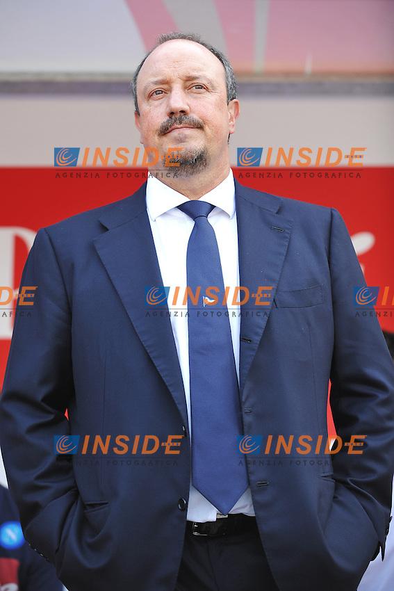 Rafael Benitez Napoli allenatore Coach <br /> Verona 31-08-2013 Stadio Bentegodi <br /> Football Calcio Campionato Italiano Serie A<br /> Chievo - Napoli <br /> Foto Andrea Staccioli Insidefoto