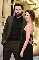 LONDON, UK. April 28, 2019: Emmett J Scanlan &amp; Claire Cooper at the BAFTA Craft Awards 2019, The Brewery, London.<br /> Picture: Steve Vas/Featureflash