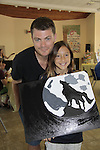 Jeff Branson & McKenna - A Painting Party where actors and children and adults do paintings to be auctioned off at the Night of Stars and on the Marco Island Princess- Actors from Y&R, General Hospital and Days donated their time to Southwest Florida 16th Annual SOAPFEST - a celebrity weekend May 22 thru May 25, 2015 benefitting the Arts for Kids and children with special needs and ITC - Island Theatre Co. on May 23 , 2015 on Marco Island, Florida. (Photos by Sue Coflin/Max Photos)