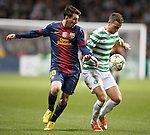 Lionel Messi and Adam Matthews