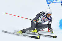 February 17, 2017: Steve MISSILLIER (FRA) competing in the men's giant slalom event at the FIS Alpine World Ski Championships at St Moritz, Switzerland. Photo Sydney Low