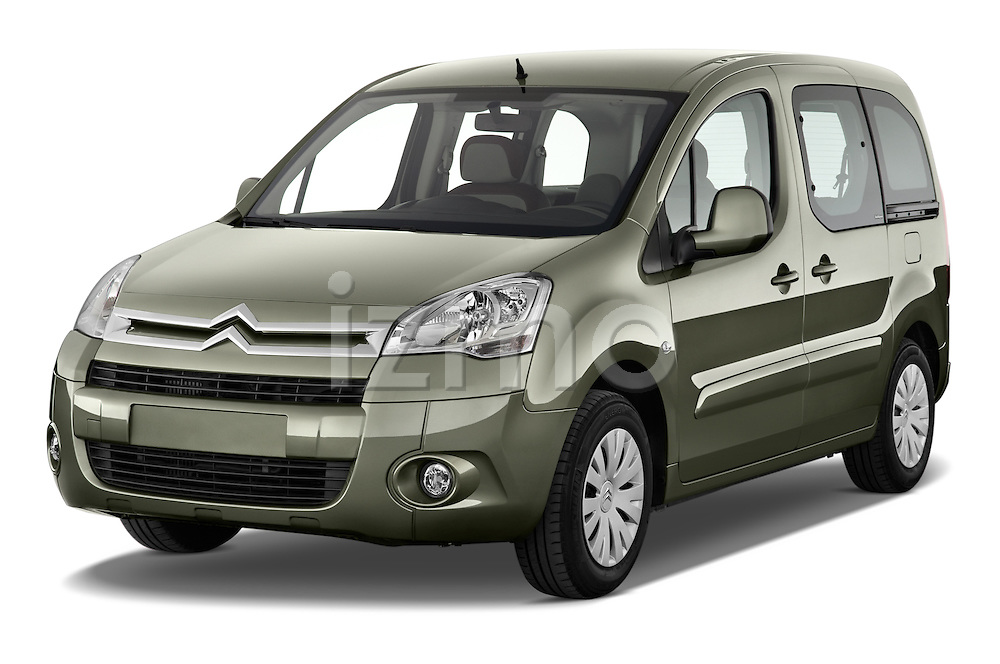 Front three quarter view of a 2008 - 2014 Citroen BERLINGO Multispace 5-Door Mini Mpv 2WD