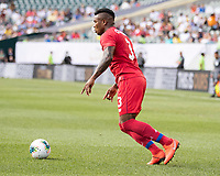 PHILADELPHIA, PA - JUNE 30: Harold Cummings #3 during a game between Panama and Jamaica at Lincoln Financial Field on June 30, 2019 in Philadelphia, Pennsylvania.