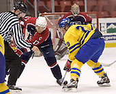 Robbie Schremp (London Knights - Edmonton Oilers), Erik Andersson (HV 71)  The US Blue team lost to Sweden 3-2 in a shootout as part of the 2005 Summer Hockey Challenge at the National Junior (U-20) Evaluation Camp in the 1980 rink at Lake Placid, NY on Saturday, August 13, 2005.