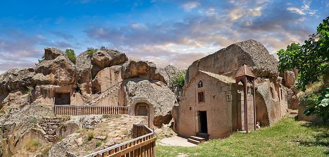 """Pictures & images of Sivisli (St Anargitios) Church, 9th century,  the Vadisi Monastery Valley, """"Manastır Vadisi"""",  of the Ihlara Valley, Guzelyurt , Aksaray Province, Turkey."""