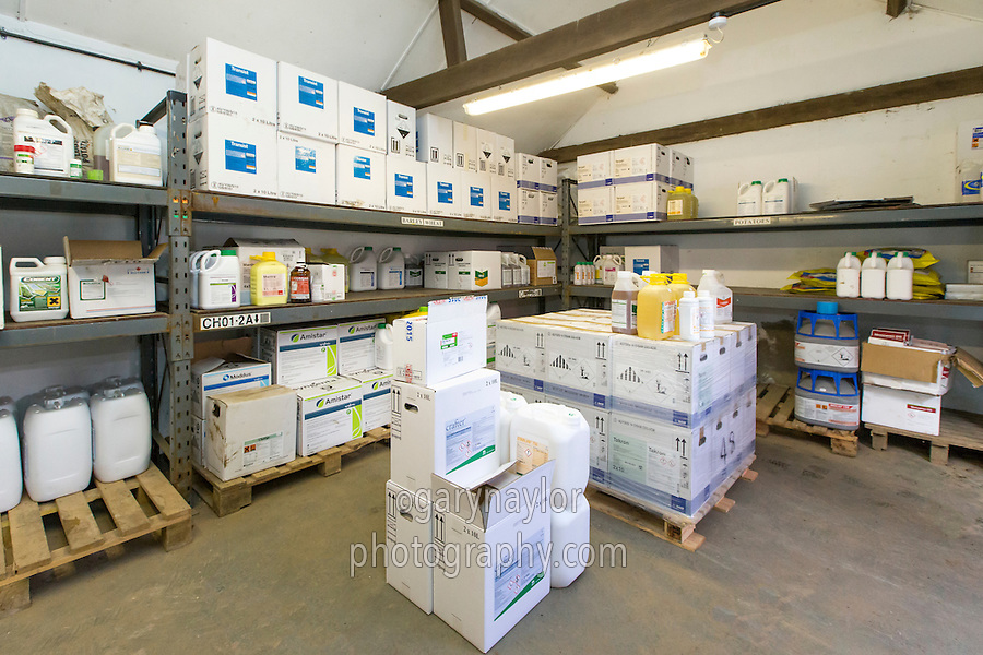 Farm chemical store