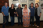 Martina McKenna celebrating her 50th birthday in the Glenside hotel with partner Eddie O'Connor, Brian and Lisa O'Donoghue and Andre O'Connor and Louise Ryan. Photo:Colin Bell/pressphotos.ie
