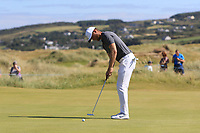 Lucas Bjerregaard (DEN) on the 10th during Round 2 of the Dubai Duty Free Irish Open at Ballyliffin Golf Club, Donegal on Friday 6th July 2018.<br /> Picture:  Thos Caffrey / Golffile