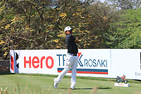 Nicholas Fung (MAS) in action on the 10th during Round 3 of the Hero Indian Open at the DLF Golf and Country Club on Saturday 10th March 2018.<br /> Picture:  Thos Caffrey / www.golffile.ie<br /> <br /> All photo usage must carry mandatory copyright credit (&copy; Golffile | Thos Caffrey)