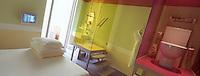 """France/06/Alpes Maritimes/Nice: """"Hi Hotel"""" conçu par la désigner Matali Crasset détail d'une chambre [Non destiné à un usage publicitaire - Not intended for an advertising use]"""