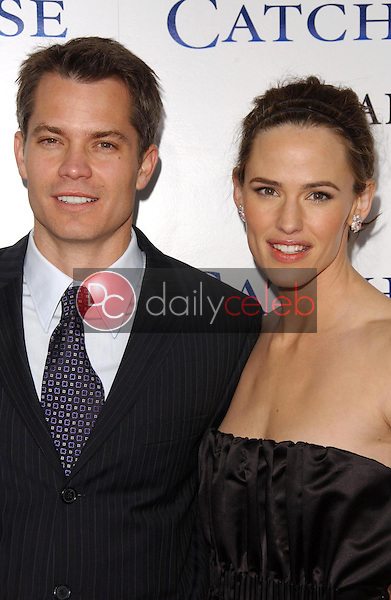 Timothy Olyphant and Jennifer Garner<br />
