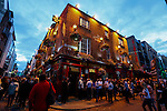 The Temple Bar on Temple Bar Street in Dublin, Ireland on Saturday, June 22nd 2013. (Photo by Brian Garfinkel)