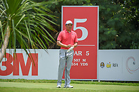 Zheng Kai BAI (CHN) looks over his tee shot on 5 during Rd 2 of the Asia-Pacific Amateur Championship, Sentosa Golf Club, Singapore. 10/5/2018.<br /> Picture: Golffile | Ken Murray<br /> <br /> <br /> All photo usage must carry mandatory copyright credit (© Golffile | Ken Murray)