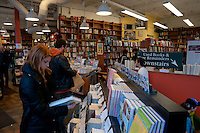 Bookstore near Harvard square in Cambridge, MA
