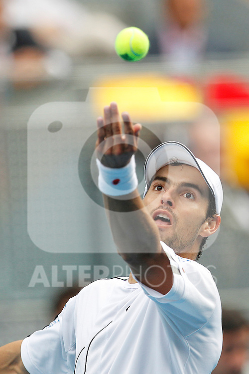 Santiago Giraldo during Mutua Madrid Open 2012 match on may 7th 2012...Photo: Cesar Cebolla / ALFAQUI