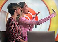 NEW YORK, NY - NOVEMBER 13: Gigi Hadid seen on NBC's Today Show In New York City on November 13, 2017. <br /> CAP/MPI/RW<br /> &copy;RW/MPI/Capital Pictures