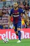 League Santander 2017/2018. Game: 01.<br /> FC Barcelona vs Real Betis: 2-0.<br /> Javier Mascherano.