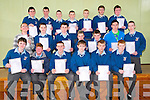 St Michael's College, Listowel : Students from St. Micheal's College, Listowel who received their Inter Cert results on Wednesday. Front : Darren McDonnell, Billy Kelliher, Brion O'Donnell, Eoin Kenny, Gary Falvey &  Ricky Blackburn. Middle: Kevin Carmody, Alan Kennelly, Luke O'Donnell, Evan O'Brien, David Keane,Nicky Barry & Darren Moloney. Back : John Keane, Darragh nBroderick, Kenneth Kelliher, Paul Kennedy, Alda Krumnis, Niall Blunden & Stephen Stack.