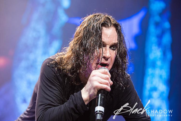 Black Sabbath performing at Rod Laver Arena, Melbourne, 29 April 2013