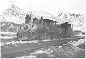 RGS 2-8-0 #12 at Telluride.<br /> RGS  Telluride, CO  ca 1910