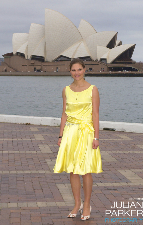Crown Princess Victoria of Sweden visits the Sydney Opera House - during her visit taking part in 'Swedish Style in Australia'..