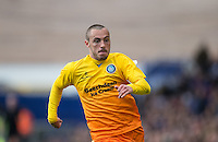 Michael Harriman of Wycombe Wanderers in action during the Sky Bet League 2 match between Portsmouth and Wycombe Wanderers at Fratton Park, Portsmouth, England on 23 April 2016. Photo by Andy Rowland.