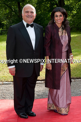 "PRINCE RASHID BIN EL HASSAN and PRINCESS SARVATH EL HASSAN.Pre-Wedding Dinner hosted by the Government of Sweden in honour of H.R.H Crown Princess Victoria and Mr Daniel Westling at Eric Ericsonhallen was attended by Royalty from all over the world. Stockholm_18/06/2010..Mandatory Photo Credit: ©Dias/Newspix International..**ALL FEES PAYABLE TO: ""NEWSPIX INTERNATIONAL""**..PHOTO CREDIT MANDATORY!!: NEWSPIX INTERNATIONAL(Failure to credit will incur a surcharge of 100% of reproduction fees)..IMMEDIATE CONFIRMATION OF USAGE REQUIRED:.Newspix International, 31 Chinnery Hill, Bishop's Stortford, ENGLAND CM23 3PS.Tel:+441279 324672  ; Fax: +441279656877.Mobile:  0777568 1153.e-mail: info@newspixinternational.co.uk"