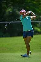 I.K. Kim (KOR) watches her tee shot on 14 during round 2 of the 2018 KPMG Women's PGA Championship, Kemper Lakes Golf Club, at Kildeer, Illinois, USA. 6/29/2018.<br /> Picture: Golffile | Ken Murray<br /> <br /> All photo usage must carry mandatory copyright credit (© Golffile | Ken Murray)