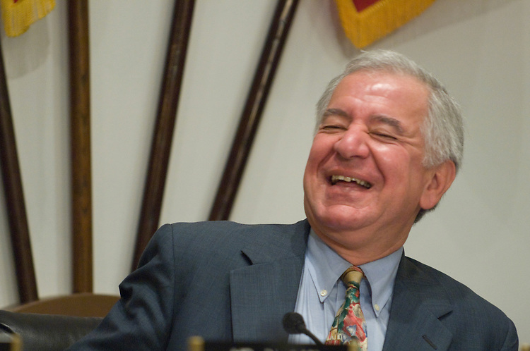 "Chairman Nick Rahall, D-WV., during the full committee hearing on ""New Fees for Filming and Photography on Public Lands."