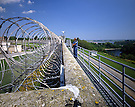 Razor Wire & Guard, West Wall