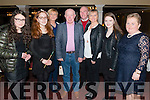 L-R Eaimer Burke from Farranfore, Ashland O'Neill from Castlemaine, Kathleen and Finbarr Murphy from Ballyvourney, Liam, Sheila and Miriam Fell from Firies and Noreen O'Neill from Castlemaine photographed at the Sliabh Mish Conhaltas charity concert and Ceil in aid of Recovery Heaven and Jigsaw in the Gleneagles Hotel, Killarney last Friday night.