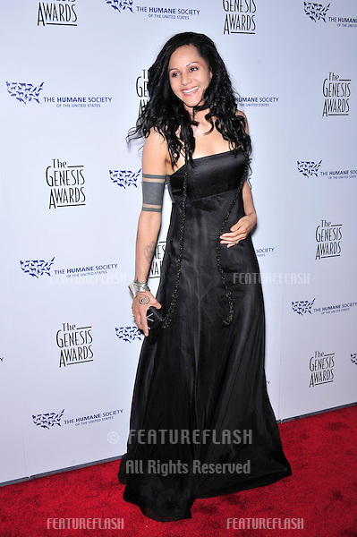 """Girlfriends"" star Persia White at the 22nd Annual Genesis Awards, produced by the Humana Society of the USA, at the Beverly Hilton Hotel, Beverly Hills..March 29, 2008  Beverly Hills, CA.Picture: Paul Smith / Featureflash"