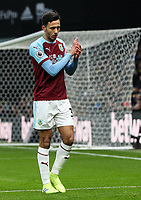 Burnley's Dwight McNeil applauds the fans during the match <br /> <br /> Photographer Andrew Kearns/CameraSport<br /> <br /> The Premier League - Watford v Burnley - Saturday 19 January 2019 - Vicarage Road - Watford<br /> <br /> World Copyright © 2019 CameraSport. All rights reserved. 43 Linden Ave. Countesthorpe. Leicester. England. LE8 5PG - Tel: +44 (0) 116 277 4147 - admin@camerasport.com - www.camerasport.com