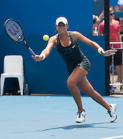 MADISON KEYS..Tennis - Apia Sydney International -  Sydney 2013 -  Olympic Park - Sydney - NSW - Australia.Monday 7th January  2013. .© AMN Images, 30, Cleveland Street, London, W1T 4JD.Tel - +44 20 7907 6387.mfrey@advantagemedianet.com.www.amnimages.photoshelter.com.www.advantagemedianet.com.www.tennishead.net