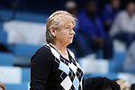 22 November 2016: UNC head coach Sylvia Hatchell. The University of North Carolina Tar Heels hosted the Charleston Southern University Buccaneers at Carmichael Arena in Chapel Hill, North Carolina in a 2016-17 NCAA Women's Basketball game. UNC won the game 93-77.