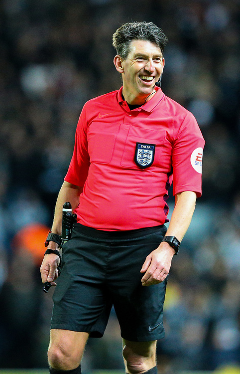 Referee Lee Probert<br /> <br /> Photographer Alex Dodd/CameraSport<br /> <br /> Emirates FA Cup Third Round Replay - Blackburn Rovers v Newcastle United - Tuesday 15th January 2019 - Ewood Park - Blackburn<br />  <br /> World Copyright © 2019 CameraSport. All rights reserved. 43 Linden Ave. Countesthorpe. Leicester. England. LE8 5PG - Tel: +44 (0) 116 277 4147 - admin@camerasport.com - www.camerasport.com