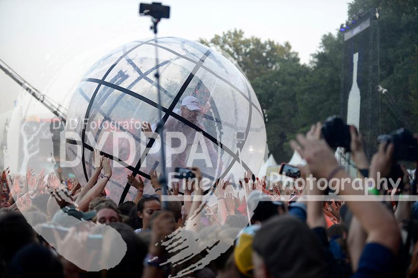 Major Lazer live auf dem Lollapalooza Festival 2016 im Treptower Park. Berlin, 11.09.2016