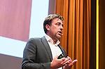 UTRECHT _ Algemene Ledenvergadering Utrecht, van de KNHB.  Jeroen Bijl (NOC)   COPYRIGHT KOEN SUYK