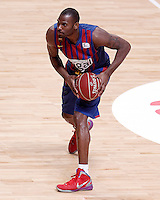 FC Barcelona Regal's Pete Mickeal during Liga Endesa ACB match.January 13,2012. (ALTERPHOTOS/Acero)