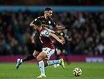 Riyad Marhez of Manchester City turns inside of Neil Taylor of Aston Villa during the Premier League match at Villa Park, Birmingham. Picture date: 12th January 2020. Picture credit should read: Darren Staples/Sportimage