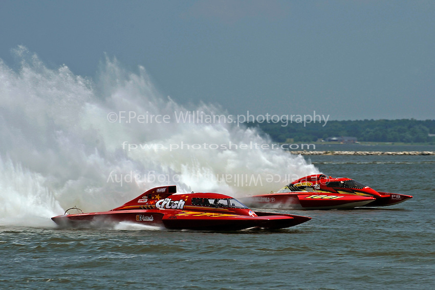 "Mike Monohan, GP-777 ""The Crush"" and Norman Shannon, GP-1001 ""Miss Dinomytes"" (Grand Prix Hydroplane(s)"