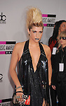 LOS ANGELES, CA. - November 21: Ke$ha arrives at the 2010 American Music Awards held at Nokia Theatre L.A. Live on November 21, 2010 in Los Angeles, California.