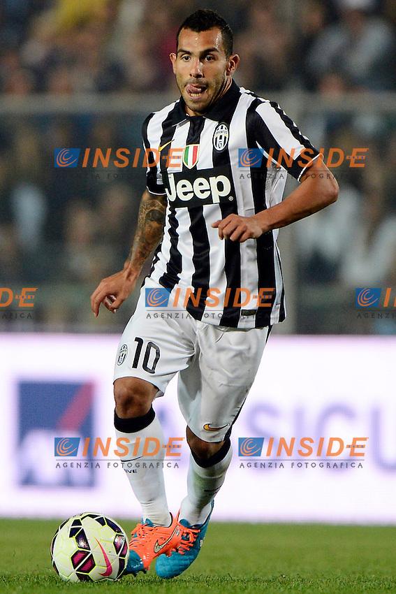 Carlos Tevez Juventus<br /> Bergamo 27-09-2014 Stadio Atleti Azzurri d'Italia - Football 2014/2015 Serie A. Atalanta - Juventus Foto Giuseppe Celeste / Insidefoto