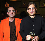 Michael Yafi and Ted Loch at the Grand Opening Cocktail Reception at Miu Miu in the Houston Galleria Monday Feb. 27,2012. (Dave Rossman Photo)